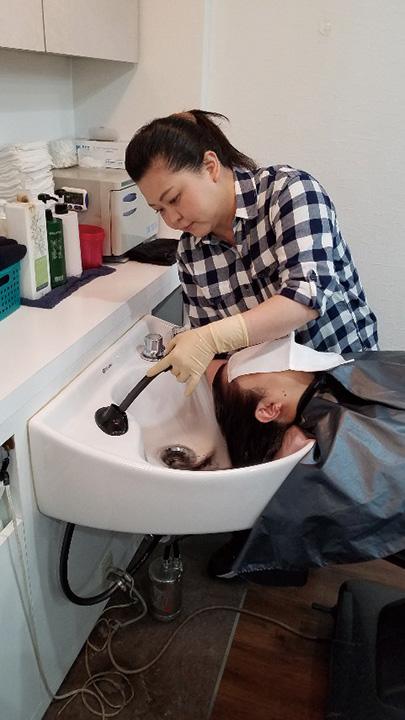憧れの美容師さん体験をしてみませんか?